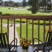 View of Golf Course from Balcony at Half Moon Bay Lodge