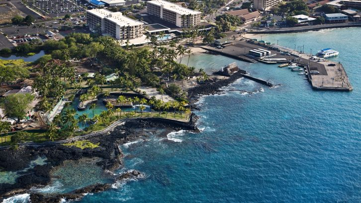 Exterior View of Courtyard by Marriott Kona Beach