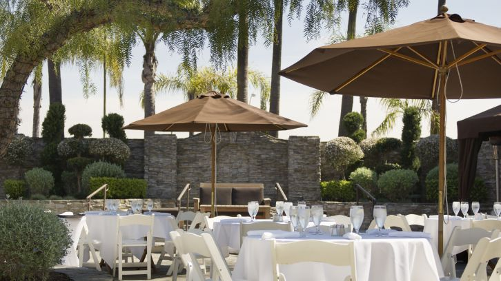 Outdoor Event Space at The Belamar