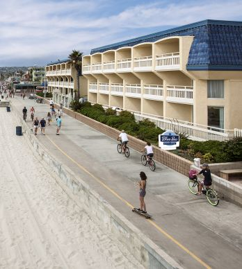 BEST WESTERN PLUS BLUE SEA LODGE TRANSITIONS TO BLUE SEA BEACH HOTEL; MAJOR RENOVATION UNDER WAY