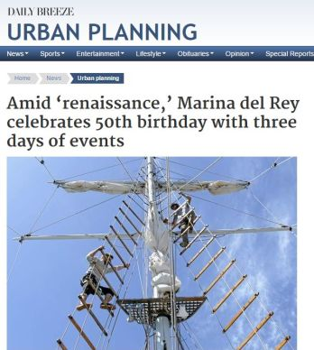 MARINA DEL REY CELEBRATES 50TH BIRTHDAY WITH 3 DAYS OF EVENTS