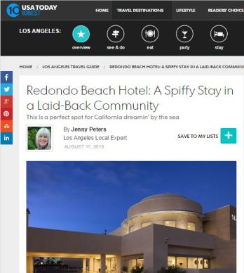 THE REDONDO BEACH HOTEL: A SPIFFY STAY IN A LAID-BACK COMMUNITY
