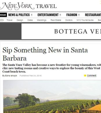 SIP SOMETHING NEW IN SANTA BARBARA