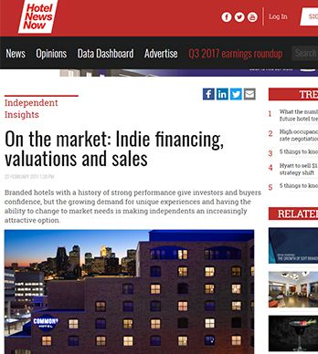 ON THE MARKET: INDIE FINANCING, VALUATIONS AND SALES