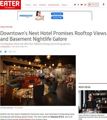 DOWNTOWN'S NEXT HOTEL PROMISES ROOFTOP VIEWS AND BASEMENT NIGHTLIFE GALORE