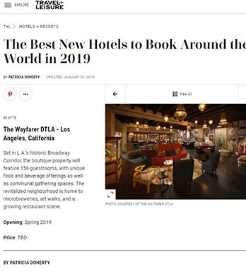 THE BEST NEW HOTELS TO BOOK AROUND THE WORLD IN 2019