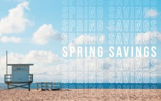 30% Off Spring Savings
